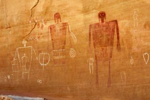 Indian Art in Horseshoe Canyon