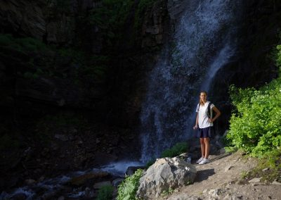 waterfall on timp
